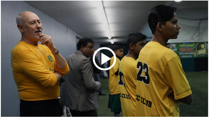 Rohingya Culture Center youth soccer team